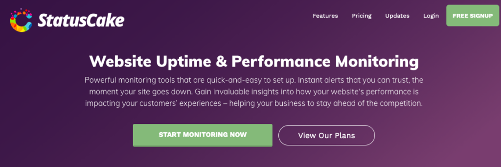 Website Uptime & Performance Monitoring