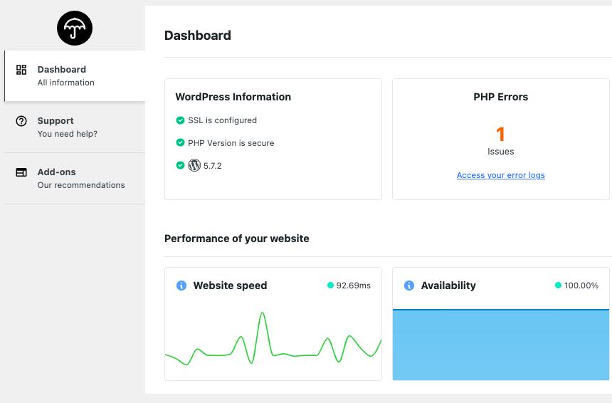 manage many sites plugin